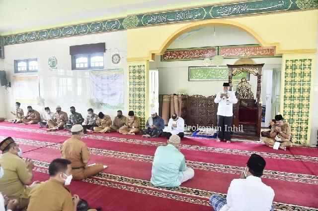 Wakil Bupati Inhil Safari Ramadhan ke Kecamatan Tembilahan Hulu