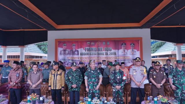 Bupati Harapkan TMMD Mampu Membantu Membangun Insfratruktur dan Kesejahteraan Rakyat