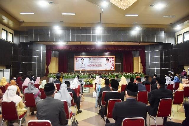 523 PNS Pemkab Inhil Terima Penghargaan Satyalancana Karya Satya